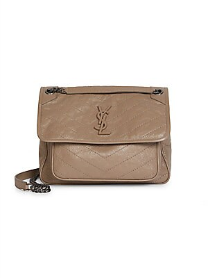Saint Laurent - Medium Niki Leather Shoulder Bag - saks.com 92a813c5e7147