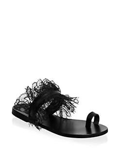 c7aaf08a291 Women's Flat Sandals | Saks.com