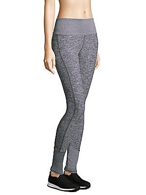 825d120322e0 Alo Yoga - High-Waist Lounge Heathered Leggings - saks.com