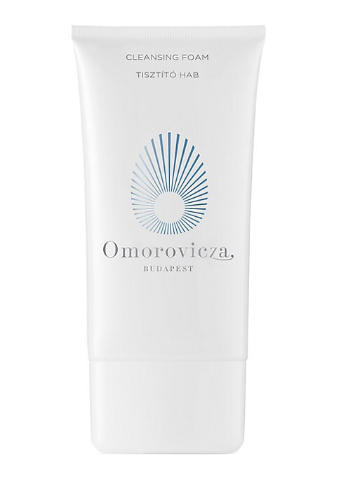 Image of WHAT IT IS. Refreshing foam cleanser for a deep yet gentle daily cleanse.5.1 oz. Imported. WHAT IT DOES. This delicately scented blue cleansing foam swiftly purifies and refreshes the skin, morning or evening. The sulphate-free formula removes all makeup