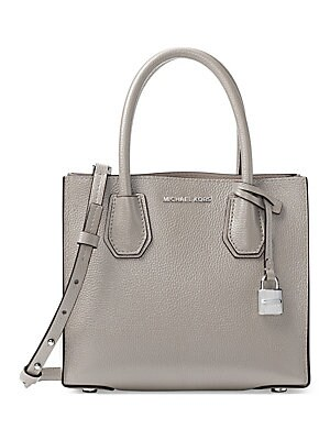 cb8e243d93a8ff MICHAEL Michael Kors - Mercer Medium Leather Messenger Bag - saks.com