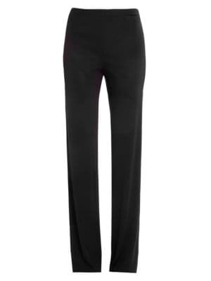 EMILIO PUCCI High-Waisted Trousers in Black