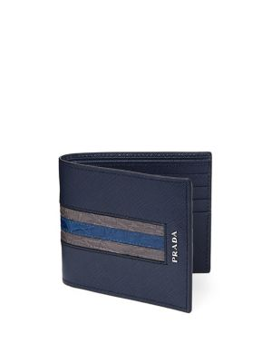 Prada  Leather Bi-Fold Wallet