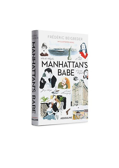Image of A nostalgic and bittersweet love story, Manhattan's Babe is the illustrated English-language edition of French writer-filmmaker Frederic Beigbeder's 2014 novel, Oona and Salinger, a fictionalized account of the true-life love story of up-and-coming writer