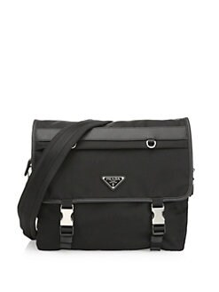 a5815879aa31 Prada. Logo Messenger Bag