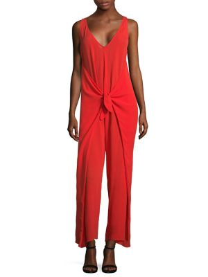 Muriel Jumpsuit in Red
