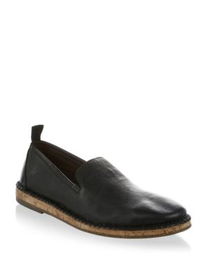 John Varvatos  Zander Leather Loafer