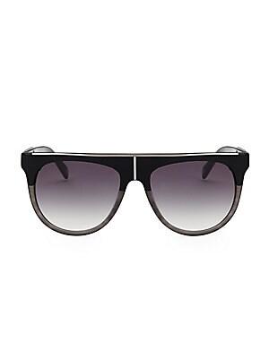 0b9b8aa33c Balmain - 57MM Cat Eye Sunglasses - saks.com