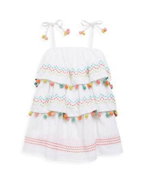 Little Girls  Girls Amazonia Cotton Dress