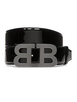7fdaa91f90e5 QUICK VIEW. Bally. Mirror B Patent Leather Belt