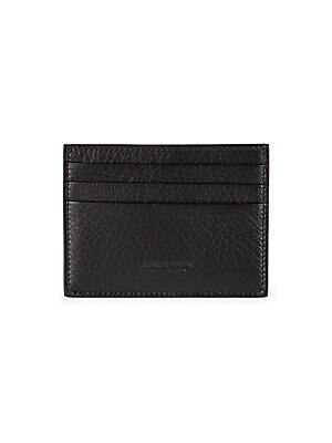 Emporio Armani - Leather Bi-Fold Wallet - saks.com 381c407d63