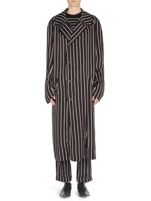 Black & White Stripe Morganite Dress, Morganite Black
