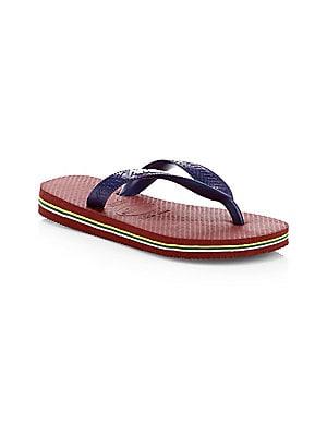 d80360f3117f Toddler s   Girl s Slim Flip Flops.  18.00 · Havaianas - Toddler s   Boy s  Brasil Logo ...