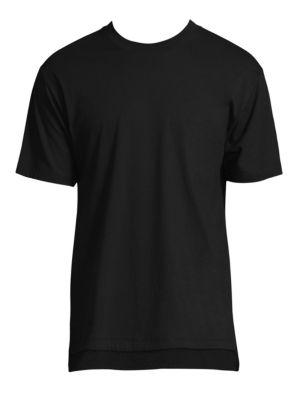 PUBLIC SCHOOL Walcott Mesh-Trim T-Shirt in White