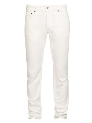 ACNE STUDIOS North Classic Jeans, White