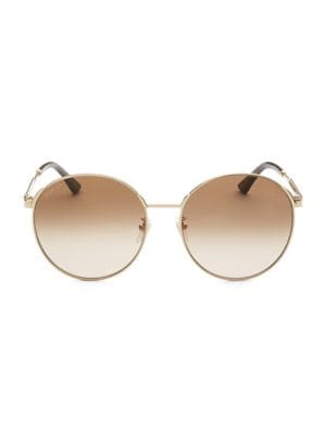 58mm Round Sunglasses by Gucci