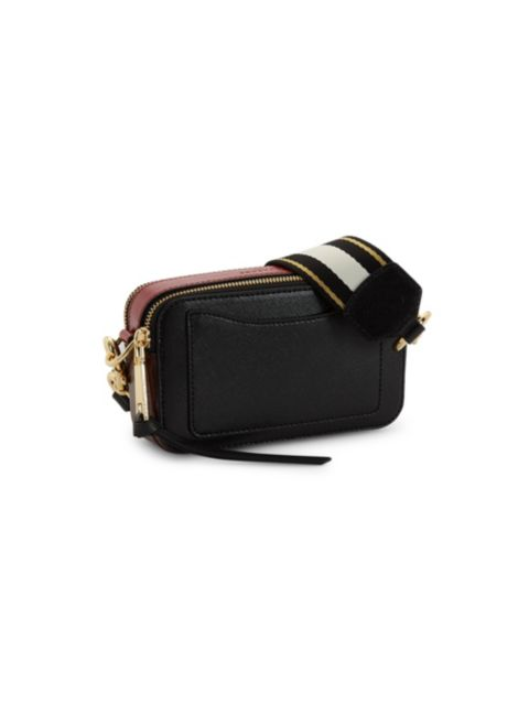 The Marc Jacobs The Snapshot Coated Leather Camera Bag   SaksFifthAvenue