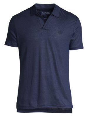 Vilebrequin Linen Jersey Polo