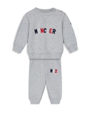 Baby Boys  Toddlers Jersey Logo Sweatshirt and Sweatpants Set