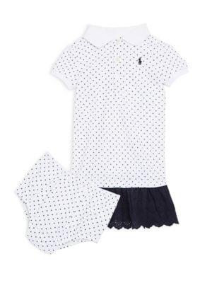 Baby Girls Eyelet Dress
