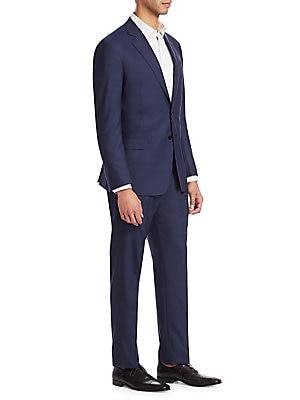 c68758d59b6620 Emporio Armani - G Line Regular-Fit Wool Suit - saks.com