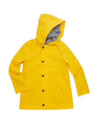 Girls Bright Raincoat