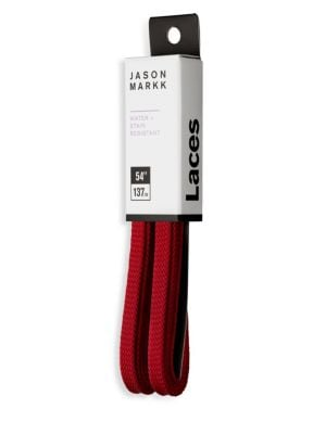 JASON MARKK Pre-Repelled Flat Shoelaces in Red