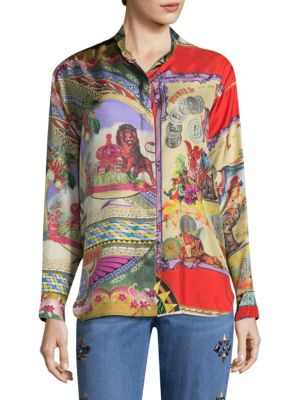 Etro Silks Circus Silk Tunic