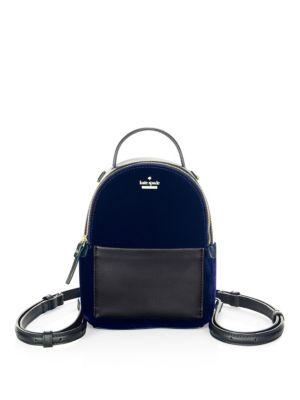 Watson Lane Velvet Merry Backpack by Kate Spade New York