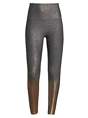 9a73317eac180 Beyond Yoga - Alloy Ombre Metallic High-Rise Leggings - saks.com