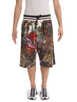 Dolce & Gabbana  Geisha Shorts