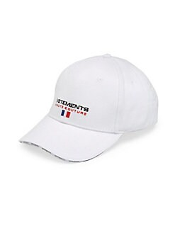 65249f17316 Vetements. Haute Couture Baseball Cap