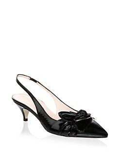 ee1ea739f6d Kate Spade New York Ophelia Leather Slingback Pumps