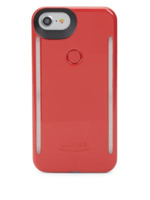 LUMEE Light-Up Iphone 6 And 6S Case in Crimson Red