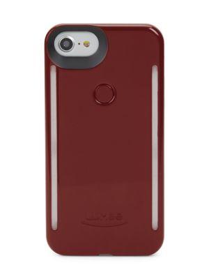 LUMEE Light-Up Iphone 6 And 6S Case in Plum Noir