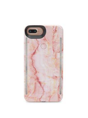 LUMEE Duo Led Lighting Pink Quartz Iphone Iphone 6 Plus, 7 Plus, 8 Plus Case