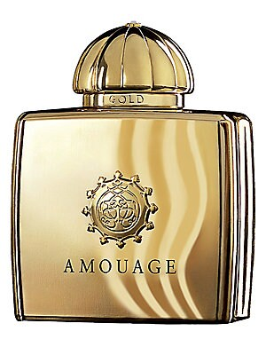 Image of Gold is a classic oriental fragrance, rich in splendor and sophistication, created for the most special luxurious evening occasion.3.4 oz. Imported. TOP NOTES Rose Lily of the Valley Frankincense HEART NOTES Myrrh Orris Jasmine BASE NOTES Ambergris Civet