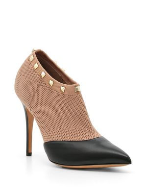 Knit Rockstud Booties by Valentino Garavani