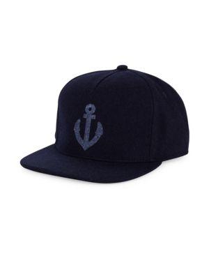GENTS Chairman Anchor Baseball Cap in Navy