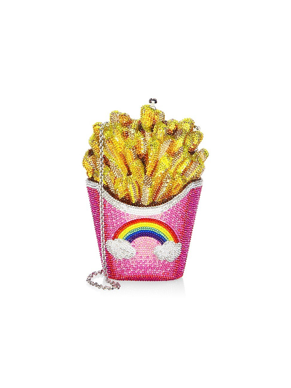 Judith Leiber WOMEN'S FRENCH FRIES CRYSTAL CLUTCH