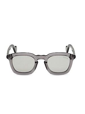 785ff868806 Moncler - 47MM Double Bridge Round Sunglasses - saks.com