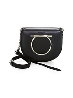 QUICK VIEW. Salvatore Ferragamo. Flap Leather Crossbody Bag b9fdd63c09e0e