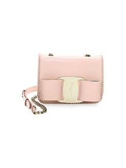 QUICK VIEW. Salvatore Ferragamo. Mini Vara Leather Crossbody Bag 0fd41694db58d