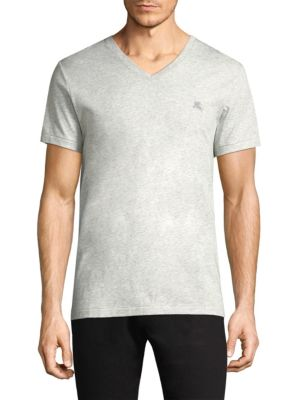 BURBERRY Joeforth Cotton Jersey T, Pale Grey
