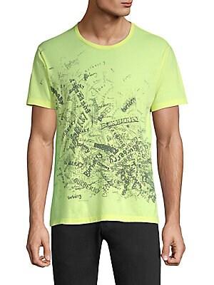 76fd8791ae3 Burberry - Rydonbiro Scribble Logo T-Shirt - saks.com