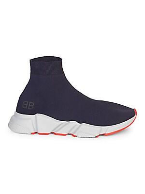 Balenciaga Speed Sock Stretch Knit Sneakers Saks Com