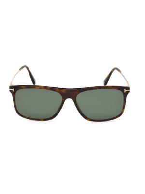 Tom Ford Sunglasses Max 57MM Square Sunglasses