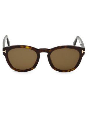 Tom Ford Sunglasses Bryan 51MMM Square Sunglasses