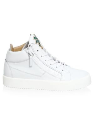 May London Palm Tree Leather Sneakers by Giuseppe Zanotti
