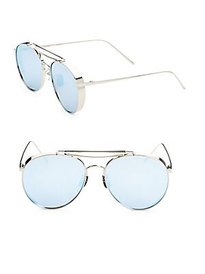 fc4d4fddb8daa Gentle Monster - 56MM Big Bully Aviator Sunglasses